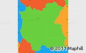 Political Simple Map of Grosuplje