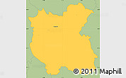 Savanna Style Simple Map of Grosuplje