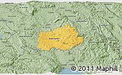 Savanna Style 3D Map of Ilirska Bistrica