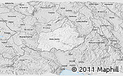Silver Style 3D Map of Ilirska Bistrica
