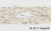 Classic Style Panoramic Map of Ilirska Bistrica