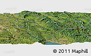Satellite Panoramic Map of Ilirska Bistrica