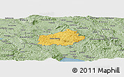 Savanna Style Panoramic Map of Ilirska Bistrica
