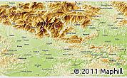 Physical 3D Map of Kamnik
