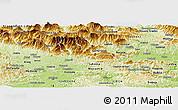 Physical Panoramic Map of Kamnik