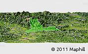 Political Panoramic Map of Kamnik, satellite outside