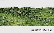 Satellite Panoramic Map of Kamnik
