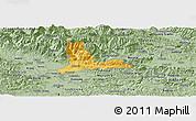 Savanna Style Panoramic Map of Kamnik