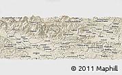 Shaded Relief Panoramic Map of Kamnik