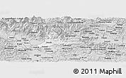Silver Style Panoramic Map of Kamnik