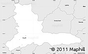 Silver Style Simple Map of Kamnik