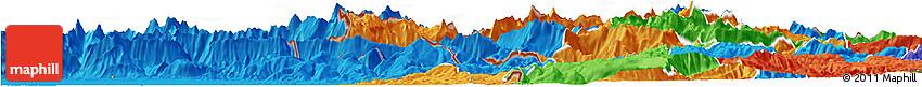 Political Horizon Map of Kobarid