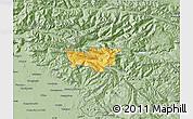 Savanna Style Map of Kobarid