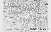Silver Style Map of Kobarid
