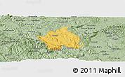 Savanna Style Panoramic Map of Kocevje