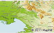 Physical 3D Map of Komen