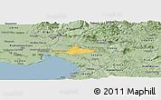 Savanna Style Panoramic Map of Komen