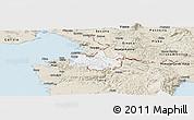 Classic Style Panoramic Map of Koper