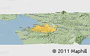 Savanna Style Panoramic Map of Koper