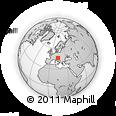 Outline Map of Kranj