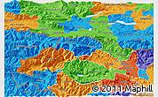 Political 3D Map of Kranjska Gora