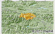 Savanna Style 3D Map of Kranjska Gora