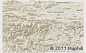 Shaded Relief 3D Map of Kranjska Gora