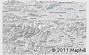 Silver Style 3D Map of Kranjska Gora