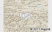 Classic Style Map of Kranjska Gora