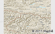 Shaded Relief Map of Kranjska Gora