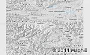 Silver Style Map of Kranjska Gora