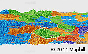 Political Panoramic Map of Kranjska Gora