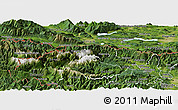 Satellite Panoramic Map of Kranjska Gora
