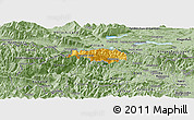 Savanna Style Panoramic Map of Kranjska Gora