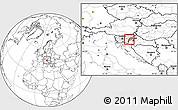 Blank Location Map of Krsko