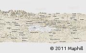 Classic Style Panoramic Map of Litija