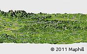 Satellite Panoramic Map of Litija