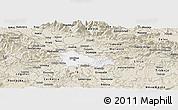 Classic Style Panoramic Map of Ljubljana