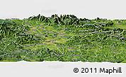 Satellite Panoramic Map of Ljubljana