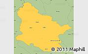 Savanna Style Simple Map of Maribor