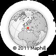 Outline Map of Metlika