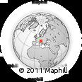 Outline Map of Miren-Kostanjevica