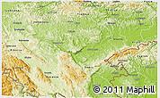 Physical 3D Map of Novo Mesto