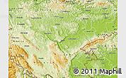 Physical Map of Novo Mesto
