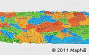 Political Panoramic Map of Novo Mesto