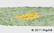 Savanna Style Panoramic Map of Novo Mesto
