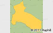 Savanna Style Simple Map of Osilnica