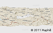 Classic Style Panoramic Map of Pivka