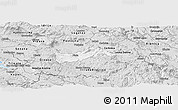 Silver Style Panoramic Map of Pivka