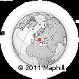 Outline Map of Postojna